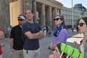 This morning at Brandenburg Gate